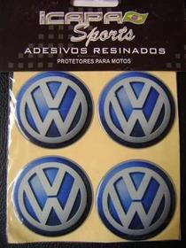 Adesivo Resinado Volkswagen 4 Unidades.