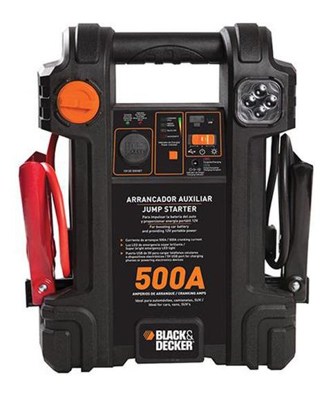 Arrancador Auxiliar De Partida Black&decker 500a Autovolt 12v
