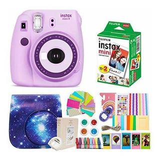Fujifilm Instax Mini 9 Cámara De Fotos Y Fuji Instax Mini P