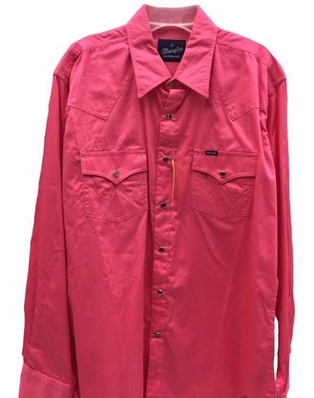 Camisa Wrangler Talla Mediana--- Ropa El Toreo