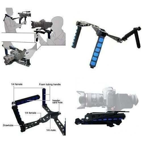 Suporte Estabilizador Para De Ombro P/ Câmera Dslr Rig Rl-01