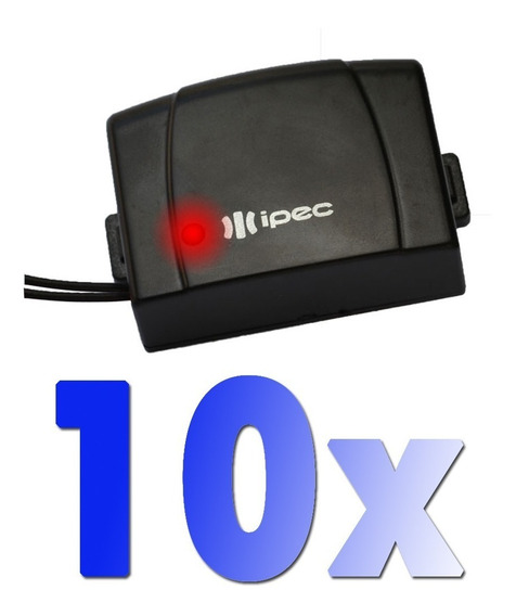 10 Controle Motor Portão Ecp Ppa Rcg Seg Alarme Farol Tx Car