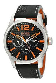 Reloj Hugo Boss Paris Orange Para Caballero Original 100%