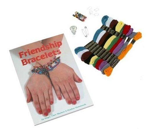 Pulseras De Amistad - Libro Y Kit