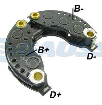 Conjunto Retificador Fh12 Globetrotter Nh12 592882 Diodos 6x