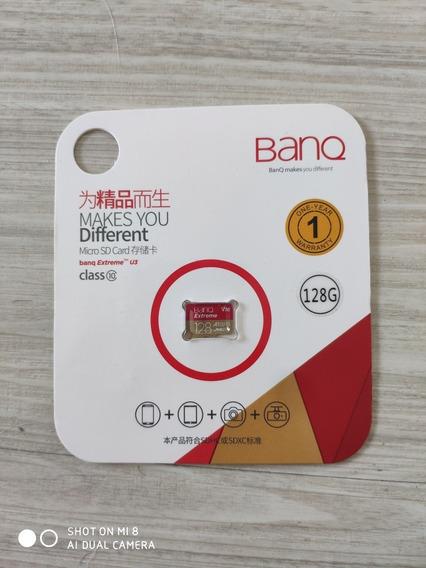 Cartão Banq Micro Sd Plus 128gb 100mb/s Uhs-3 4k