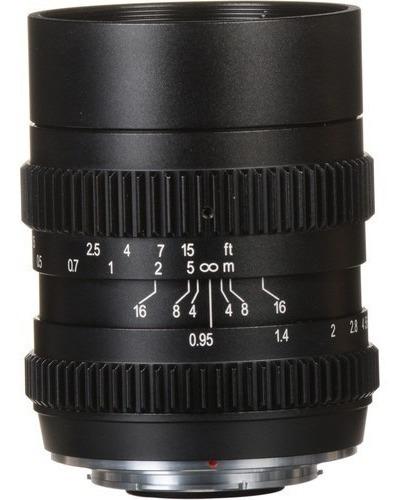 Slr Magic 25mm 0.95 Cine M4/3 Blackmagic Gh2 Gh3 Gh4 Gh5