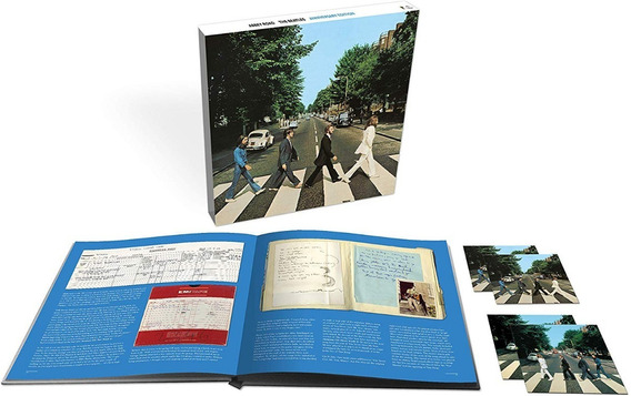 Box Beatles Abbey Road (50th Anniversary) Super Deluxe