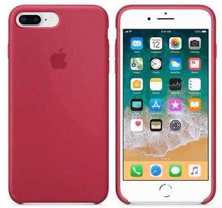 Capa Capinha Aveludada Logo iPhone Apple 7plus 8 Plus