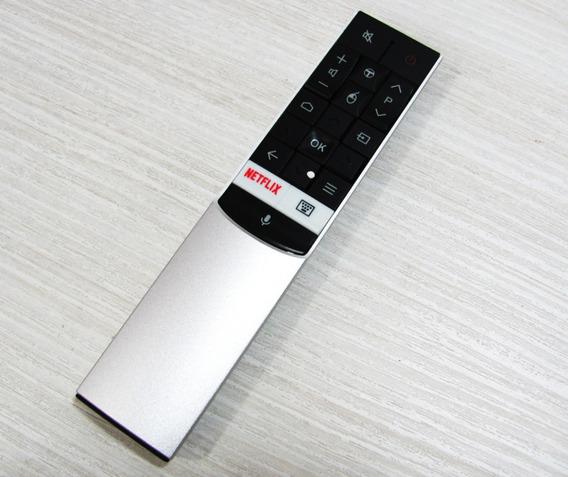 Controle Comando De Voz Tv Tcl 49c2us 55c2us 65c2us Rc602s