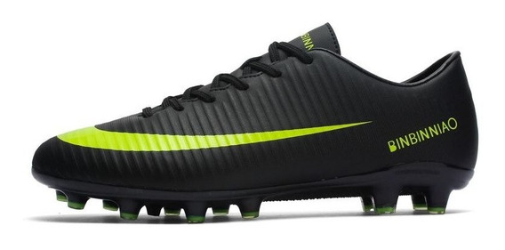 High Tf Sapatos Tornozelo De Futebol Chuteiras De Relva Tên