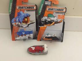Matchbox Kit Com 3 Minis ( 1 Deep Diver )