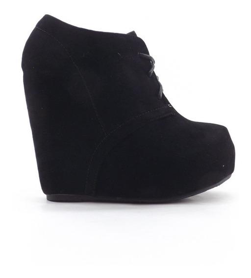 Zapatos Plataforma Escondida Altos Dama Mujer Comodos Zebby