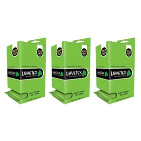 Lovetex Preservativo Camisinha Menta Display - 3uni.