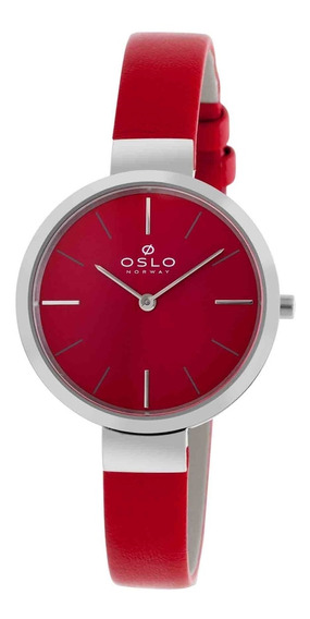 Relógio Oslo Unissex Sapphire Slim Analógico Ofbscs9t0001 V1vx