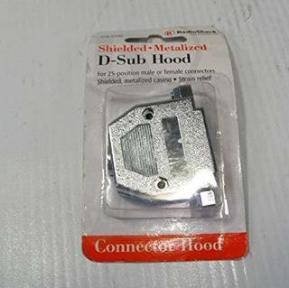 Radio Shack 276-1536 Blindado Metalizado D-sub De La Capilla