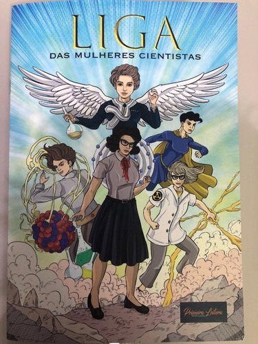 Liga Das Mulheres Cientistas - Livro Infanto-juvenil