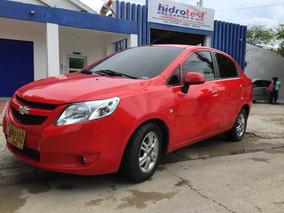 Chevrolet Sail Ltz 2014 Color Rojo