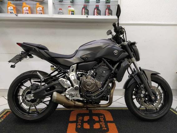 Yamaha Mt07 Cinza 2016 - Target Race