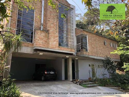 Imagem 1 de 30 de Casa À Venda, 480 M² Por R$ 1.330.000,00 - Granja Viana - Jandira/sp - Ca1774