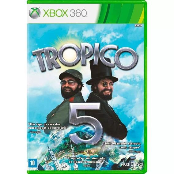Tropico 5 Xbox 360 Mídia Física Novo Lacrado