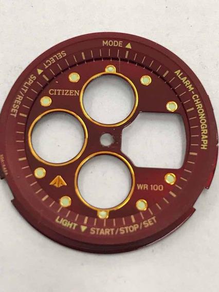 Mostrador Relógio Citizen Combo Vermelho C450 - Novo
