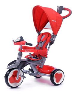 Triciclo Paseador Para Bebe 3en1 Asiento Giratorio Prinsel
