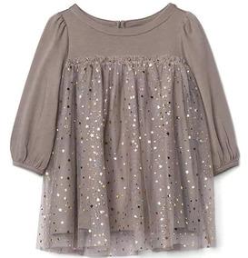 Vestido - Gap Baby - Saia Em Tule Com Estrelas Douradas