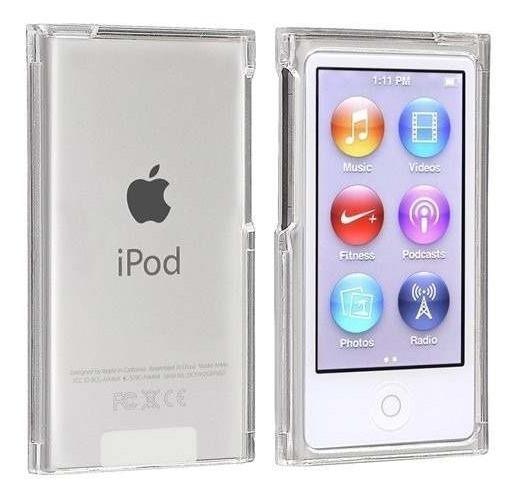 Case Capa iPod Nano 7 Ultra Clear Acrilico + Pelicula