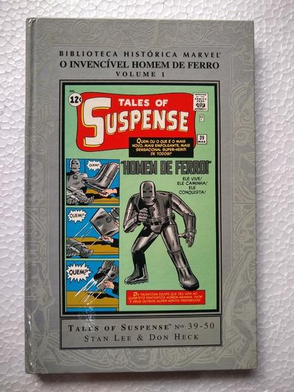 Biblioteca Histórica Marvel Homem De Ferro Volume 01