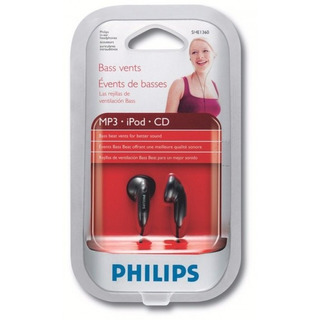 Auricular Philips She1360 Alta Fidelidad - Factura A / B
