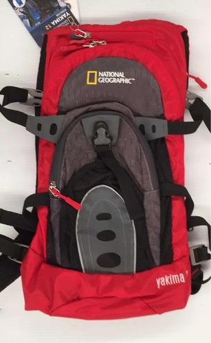 Imagen 1 de 9 de Mochila De Hidratacion Backpack Campismo Nat Geo Yakima 12
