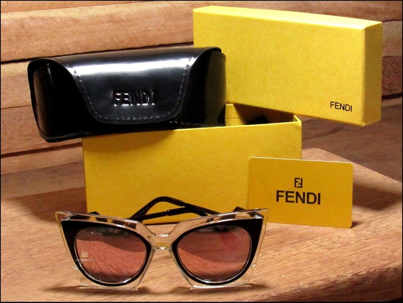 Óculos De Sol Fendi Orchidea Unisexx Já No Brasil °1008°