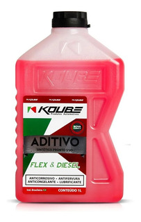 Aditivo Rosa Sintético Pronto Uso Radiador 1 L Koube