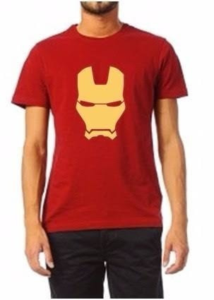 Playeras Iron Man