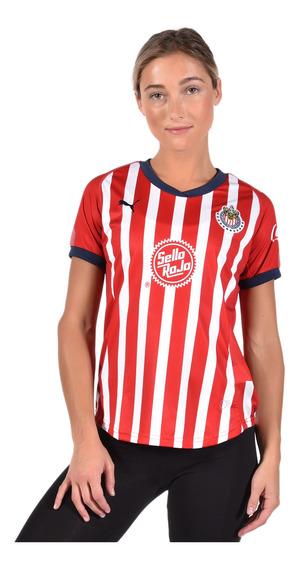Playera Chivas - Puma - 704028 01 - Roja Mujer