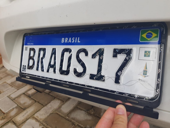 Suporte Placa Mercosul Carro, Caminhão, [2.un] Super Oferta!