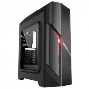 Gabinete Gamer C3tech Mt-g700bk Com 1 Led Sem Fonte 4x Usb