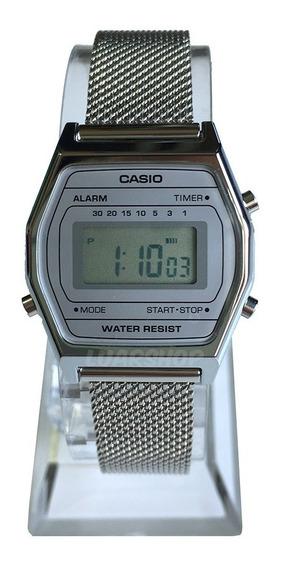 Relógio Casio Digital Feminino Mini La690wem Nf