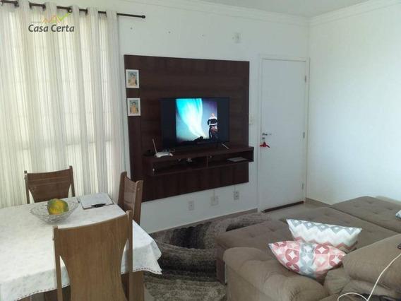 Apartamento Com 2 Dormitórios À Venda, 50 M² Por R$ 0 - Jardim Novo Ii - Mogi Guaçu/sp - Ap0164