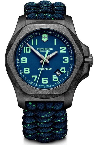 Reloj Victorinox Inox Carbon 241860 Suizo Azul Oficial