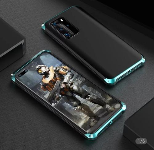 Capa Celular Metal Emborrachada Huawei P30 À Pronta Entrega