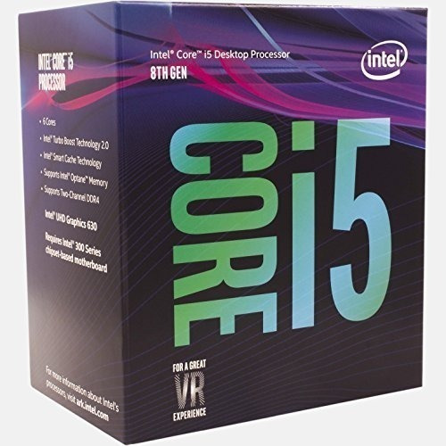 Procesador Core I5-8600k Six Core 9m 3.6ghz 1151 V.2 Intel