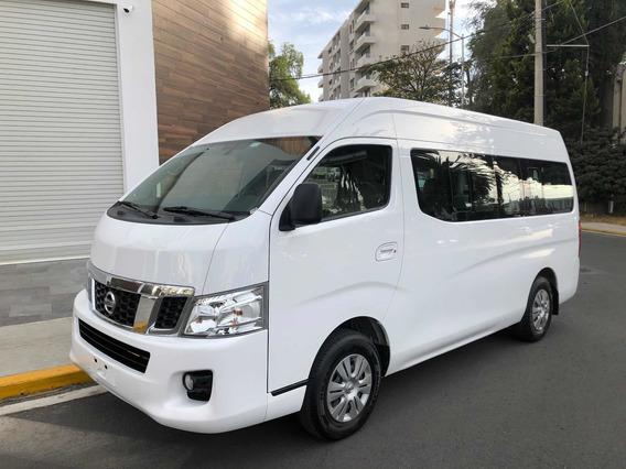 Nissan Urvan 2.5 15 Pas Ampliapack Seg Mt Gas 2017