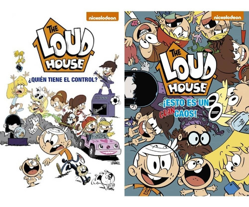Pack The Loud House (2 Libros)