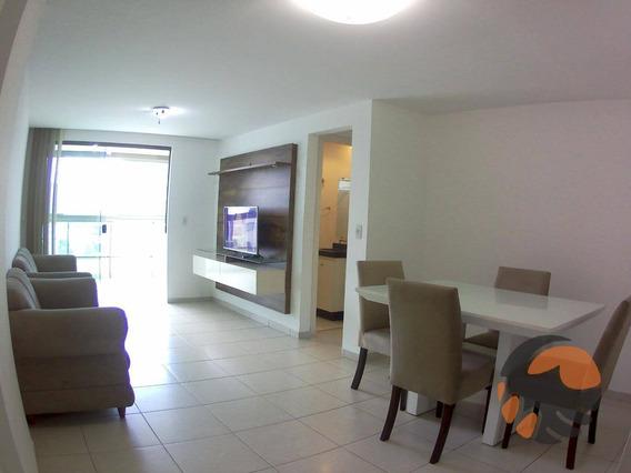 Apartamento Com 2 Quartos Para Temporada 90 M² - Praia Do Morro - Guarapari/es - Ap2040