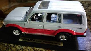 Miniatura Escala 1:18 Toyota Land Cruiser 1998 Década De 90