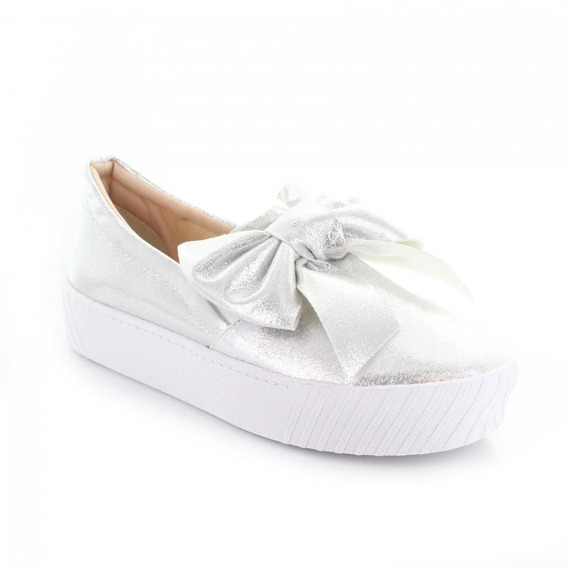 Tenis Para Mujer Redberry 8020-047851 Color Plata