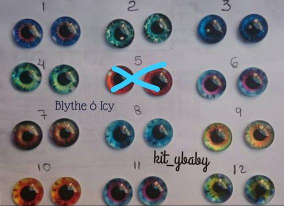 Par De Ojos Para Muñeca Blythe O Icy, Peluches