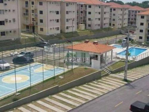 Imagem 1 de 7 de Apartamento Com 3 Dormitórios À Venda, 53 M² Por R$ 190.000,00 - Tarumã Açu - Manaus/am - Ap2434